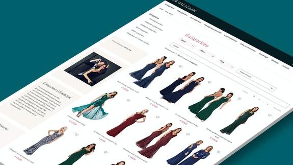 Craft Commerce webshop - De galazaak