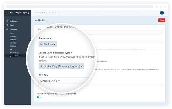 Mollie Plus plugin for Craft CMS Screenshot
