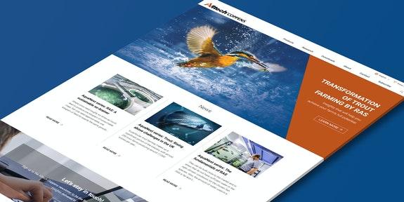 Alltech Coppens Corporate website Craft CMS Header