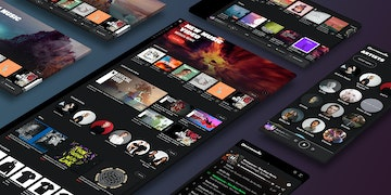 Armada Music - Website - case Header