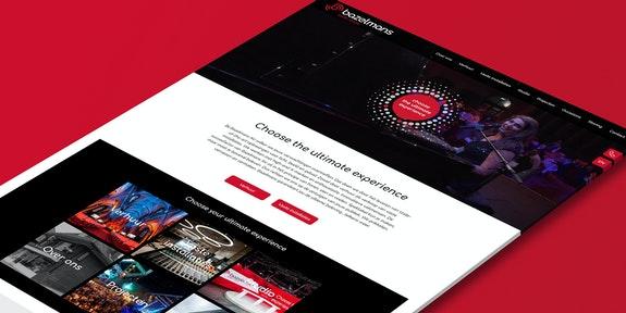 Bazelmans AV - Website - Craft CMS project - Header