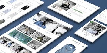 Blue Crane - Brand webshop - case Header