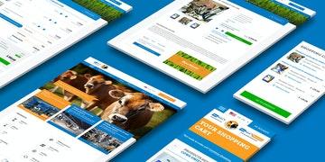 Boumatic - Global website met B2B webshop - Header