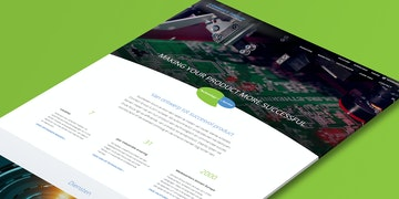 Connect Group - Corporate website - Craft CMS - Header
