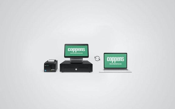 Coppens Warenhuis - Webshop - Koppeling met kassasysteem