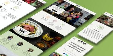 De Krat E-commerce Project - case Header