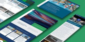 Hellebrekers Visual Link Bedrijfs en product website case Header
