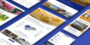 Hotraco Group - Corporate Website - Header
