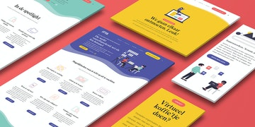 Iris Intranet - Website - case Header