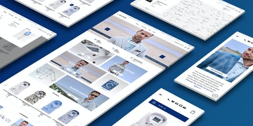 Ledûb - Brand webshop - case - Header