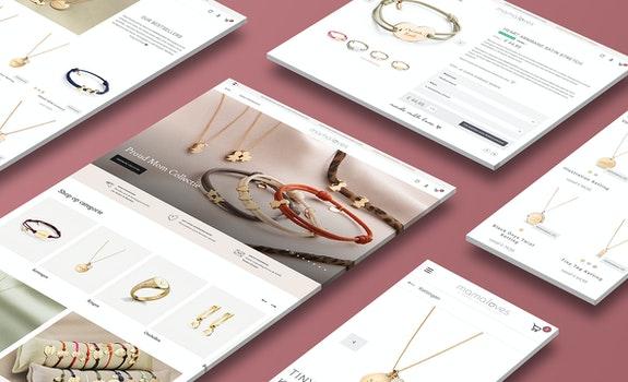 Mamaloves Retail webshop case Header