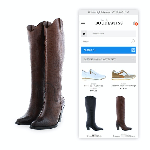 Shoes by Boudewijns - B2C webshop Mobile shopping