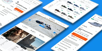 Shoes by Boudewijns - B2C webshop - case Header