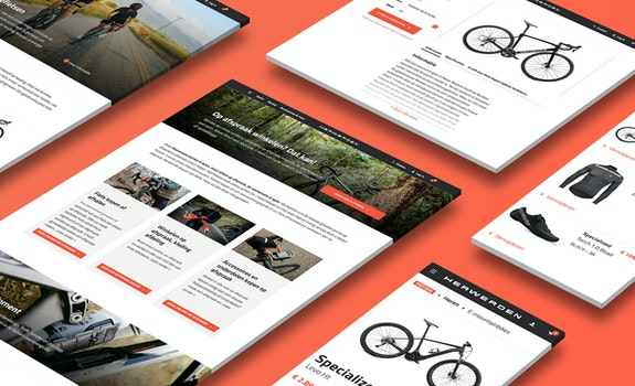 Van Herwerden - B2C webshop - case Header
